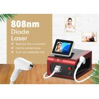 Buy cheap Portable 808nm Diode Laser Hair Removal Machine With Touch Screen from wholesalers