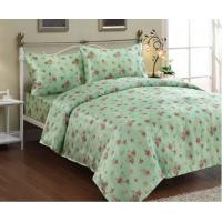 Buy cheap Lace / Woven Linen Bed Sheets for Home , Cotton Patchwork Quilt Bedding Set from wholesalers