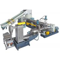 Buy cheap Dual stage Recycled Plastic Granulator Machine for Waste PP PE PET Film from wholesalers