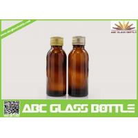 Buy cheap Cheap Discount 100ML Pharmaceutical Amber Syrup Glass Bottle product
