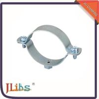 Buy cheap Suspension Galvanized Pipe Clips Metal Cable Clamps -40 ℃ ~ 110 ℃ Working Temp from wholesalers