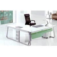 Buy cheap white director desk product