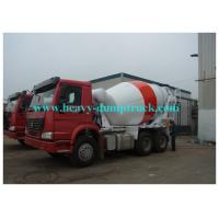 Buy cheap Howo concrete transit mixer truck 6x4 or 8x4 cement tanker truck 8 / 12m3 tank from wholesalers