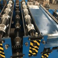 Quality Carbon Steel / Corrugated Iron Metal Roofing Sheet Roll Forming Machine for sale