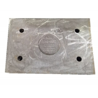 Quality long wear life costomized 63HRC Wear Plates for cement mill for sale