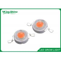 Buy cheap Brightest 1w 3w High Power Led Chip For Led Grow Tubes , Led Bridgelux Chip from wholesalers