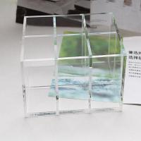 Buy cheap Clear Acrylic Cosmetic Display desktop Cosmetic lipstick Organizer from wholesalers