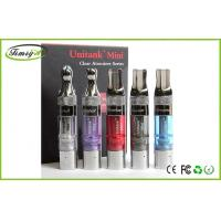 Buy cheap Kanger Mini Unitank E Cig Refillable Clearomizer blue purple With Stainless Steel Drip Tip from wholesalers