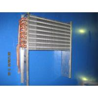 Buy cheap Fin - Flat Type Aluminum Fin Heat Exchanger , Copper Tube Plain from wholesalers