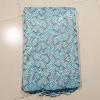 Buy cheap Blue Lace Fabric For Wedding Dress , Evening Dresses from wholesalers
