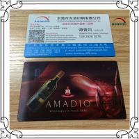 Buy cheap Offset Printing PET / PP 3D Lenticular Business Cards With Up And Down Effect product