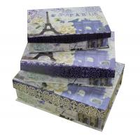 Buy cheap Art Paper Keepsake Gift Boxes Flap Magnet in Set 1200gsm from wholesalers