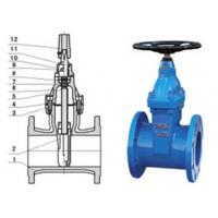 China RVHX\RVCX non rising stem resilient seated gate chemicals, power station valve on sale