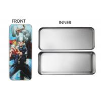 Buy cheap School 3d Lenticular Pencil Box Tin For Children , Tin Pencil Case from wholesalers