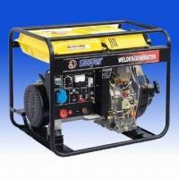 Buy cheap Diesel Generator with Welder, AVR Voltage Regulator and 3 to 3.3kVA Rated AC Output from wholesalers