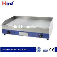 Buy cheap CE Electric griddle Best cast iron griddle Chromed hot plate 9mm thick WG-600SD from wholesalers