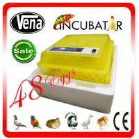 Buy cheap 2014 CE approved full automatic small plastic incubator egg tray VA-48(12V) from wholesalers