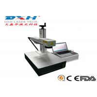 China Fully Automatic Fiber Laser Marking Machine Usb Laser Engraver Online Editing Function on sale