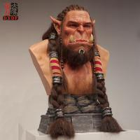 Buy cheap Decoration Life Size Silicone Half Statue product