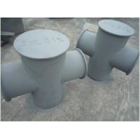 Buy cheap Marine Mooring Bitts Mooring Bollard Grey Epoxy Primer Single Cross from wholesalers