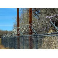 Buy cheap Hot Dipped Galvanised Concertina Wire CBT- 65 With 33 Loops For Fencing from wholesalers