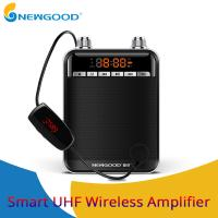 Buy cheap NEWGOOD Black UHF,2.4Ghz High Powerful 9V 50W wireless amplification Loud speakers for school classroom professor from wholesalers