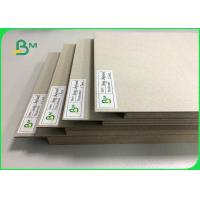 China 0.5mm To 3mm FSC Certified Laminated Grey Board Carton Gris For Book Binding Board Arch Lever Files on sale