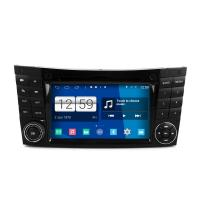 Buy cheap 7 2din android car dvd android 4.4.4 HD 1024*600 for BENZ W211 2002-2008 with 4 Core CPU, Mirror link from wholesalers