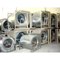 Lower noise centrifugal fan with motor of spray booth for Paint booth fan motor