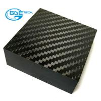 Buy cheap GDE carbon custom carbon fiber sheet/board for car using from wholesalers