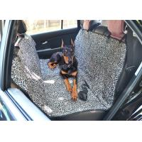 Buy cheap Leather Seats Removable Dog Car Seat Covers Waterproof Leopard Print from wholesalers