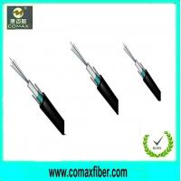 Buy cheap single mode vs multimode fiber optic cable center loose tube GYXTW from wholesalers