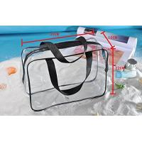 Buy cheap Clear PVC Bag For Men And Women , Light Weight PVC Designer Bags ROHS Approved from wholesalers