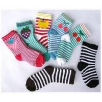 Buy cheap Cute Colorful comfortable Pure Cotton Ankle Terry Loop Socks For Children 1- 4 Years from wholesalers