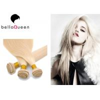 Buy cheap Professional Blonde Straight 613#  European Virgin Hair Weave For Beauty Works product
