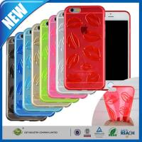 Buy cheap Lips Pattern iPhone 6 Plus Protective Cover Slim Soft Flexible TPU 5.5 from wholesalers