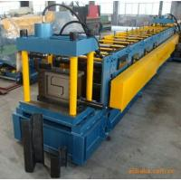 Buy cheap 18-20Mpa Gcr 15 Z Purlin Roll Forming Machine With 15 Rows Rollers / PLC Vector Inverter product