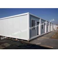 Buy cheap Classroom / Office Units Structural Steel Construction Modular Container House Expansion Project from wholesalers