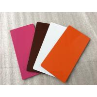 Buy cheap Various Colors ACP Aluminium Sheet High Intensity With Weather Resistance  product
