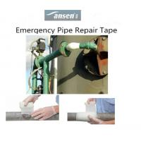 China Industrial Plumbing Fiberglass coated with Polyurethane Material Pipe Repair Bandage on sale