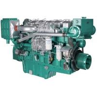 Buy cheap Marine Diesel Engines 112 Kw 152 HP For Boat With Four Stroke Binary Cooling from wholesalers
