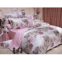 Buy cheap Modern Oil Painting Design 100% Tencel Lyocell Bedding Set Pink Color from wholesalers