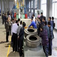 Buy cheap Waste tire rubber recycling machine for making rubber powder from wholesalers
