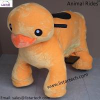 Buy cheap Animales Electricos Montables Stuffed Ride Electric Animal Car 4 Wheels Animal Bikes-Duck from wholesalers
