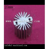 Buy cheap Item 383,0.906customized round extruded aluminum profile heatsink , cooler for led light from wholesalers