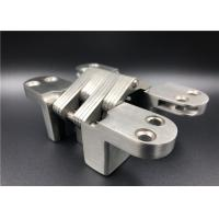 Buy cheap Stainless Steel Mortise Mount Heavy Duty Hidden Hinges With SGS CNAS Certificate from wholesalers
