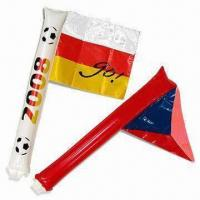 Buy cheap Flag Shape Inflatable Cheering Sticks/Soundsticks product