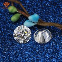 Buy cheap Round brilliant cut VVS1 DEF high polished loose jewelry moissanite very hotsell to USA from wholesalers
