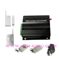 Buy cheap GSM/MMS wireless home alarm with 7 wired zone and 99 wireless zone product