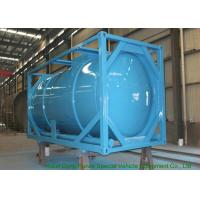 Buy cheap 20 Feet ISO Wast Water Tank Container For Bulk Liquid 20000L Optional PE Lined from wholesalers